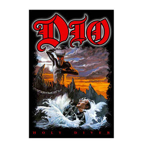 NEW DIO Holy Diver Tapestry Fabric Cloth Poster